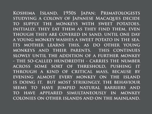 PaulMcGuckin-100 Monkeys Text